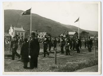 Tynwald ceremonial procession with Lieutenant Governor Sir Ambrose…