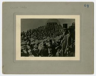 Earliest known photograph of the Tynwald ceremony