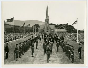 Tynwald ceremonial procession including Lieutenant Governor Air Vice…