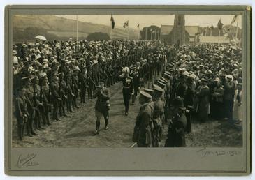 Tynwald ceremony showing Lieutnant Governor Major General Sir…