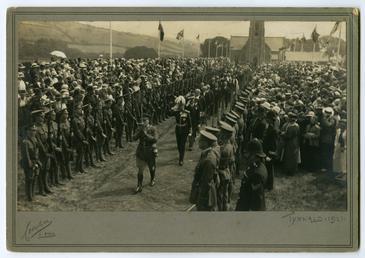 Tynwald ceremony showing Lieutnant Governor Major General Sir…