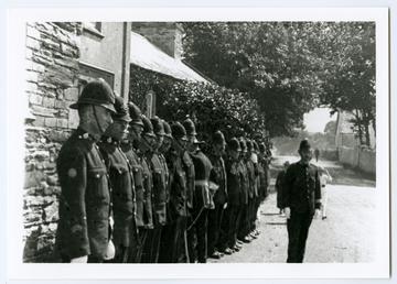 Police guard, Tynwald Day