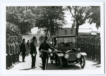 Lieutenant Governor Major General William Fry arriving at…