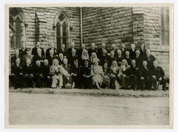 George VI and Queen Elizabeth on Tynwald Day,…