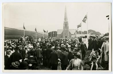 Spectators at Tynwald Day
