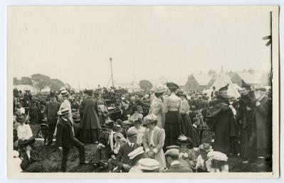 Spectators at Tynwald Day