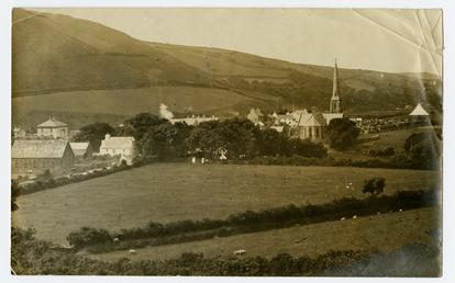 Tynwald Day viewed from a distance