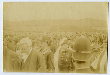 Policemen at the Tynwald ceremony
