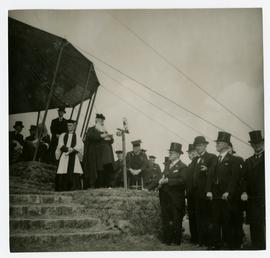 Dignitaries on Tynwald Hill