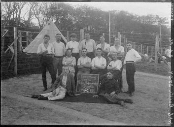 First World War Internee Emil Richter and others…