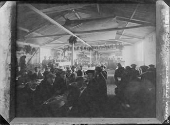 First World War Internees, Dining Room, Douglas Camp,…