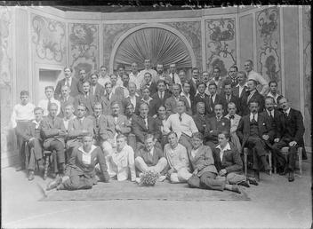 First World War Internees, Theatre, Douglas Camp, Isle…