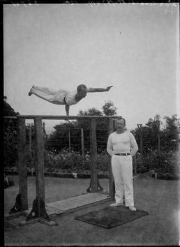 First World War Internees' Gymnastic Club in front…