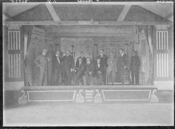 First World War Internees, Theatre, Camp IV, Knockaloe…