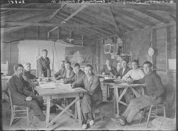 First World War Internees, Classroom (Nautical), Camp IV,…