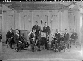 First World War Internee Orchestra, Theatre, Douglas Camp,…