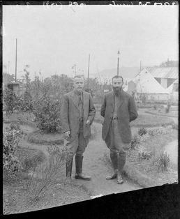 First World War Internees, Ornamental Gardens (tent and…