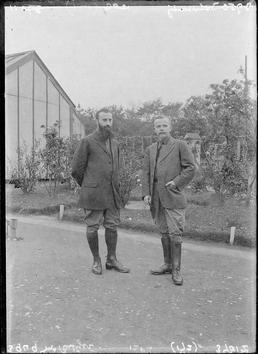 First World War Internees, Ornamental Gardens (chalet in…