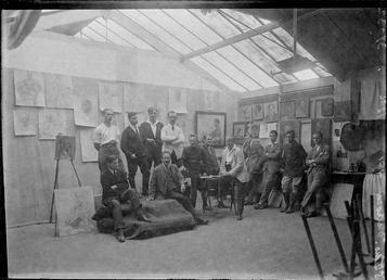 First World War Internees, Artist's Studio (Life Class),…