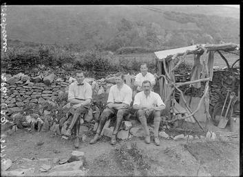 First World War Internees, Howstrake Camp, Isle of…