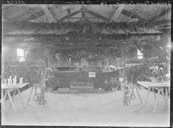First World War Internee Horticultural Show inside an…