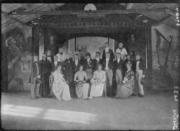 First World War internee theatrical production, Douglas or…