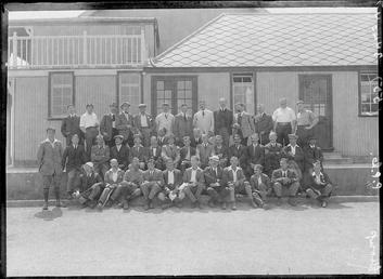First World War Internees, Howstrake Camp (Main Building),…