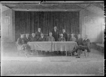 First World War Internee Society, Theatre, Knockaloe Camp,…