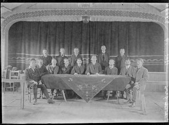 First World War Internees (Unknown Society), Theatre, Douglas…