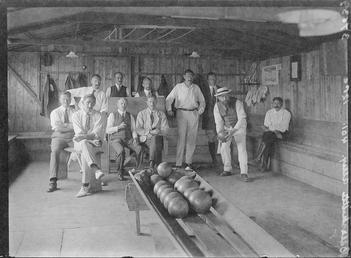 First World War Internees in Covered/ Indoor Bowling…