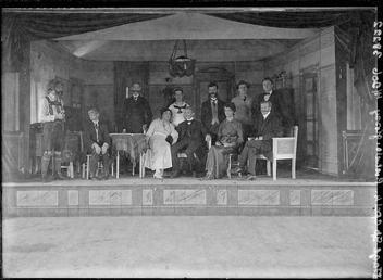 First World War Internees, Theatre, Douglas or Knockaloe…