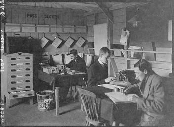 First World War Internee, Office, Knockaloe Camp, Isle…
