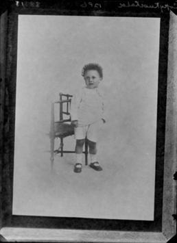 First World War child