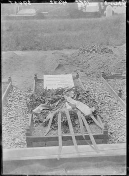 First World War Internee Grave, Patrick Churchyard, Isle…