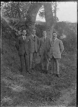 First World War internee, Douglas Camp, Isle of…