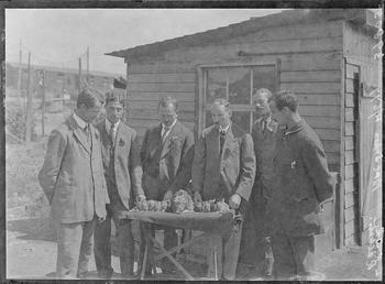 First World War Internees (with Rabbits), Allotments, Knockaloe…