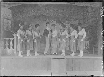 First World War Internee Theatrical Production, Theatre, Douglas…