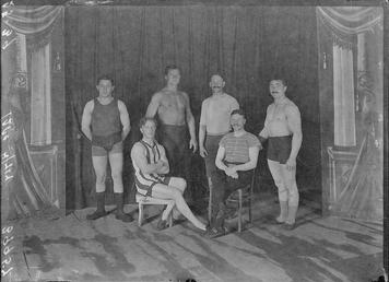 First World War Internees (Acrobats?), Douglas or Knockaloe…