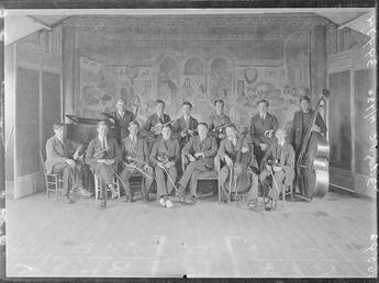 First World War Internee Orchestra, Douglas or Knockaloe…