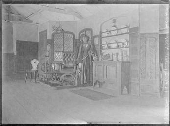 First World War Internee, Theatre Set, Douglas or…
