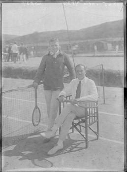First World War Internees, Tennis Courts, Knockaloe Camp,…