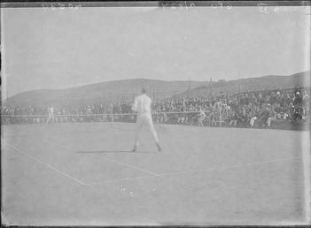 First World War Internees (Tennis Match), Tennis Courts,…