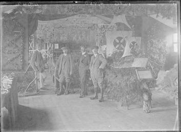 First World War Internees, Internee Horticultural Show, Douglas…