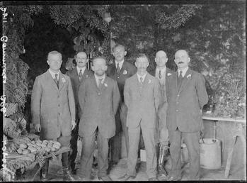 First World War Internees, Horticultural Show, Knockaloe Camp,…