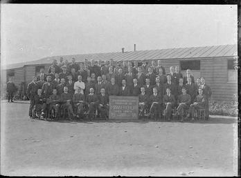 First World War Internee Choir in front of…