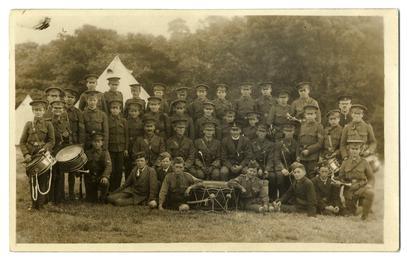 First World War Church Lads' Brigade camp