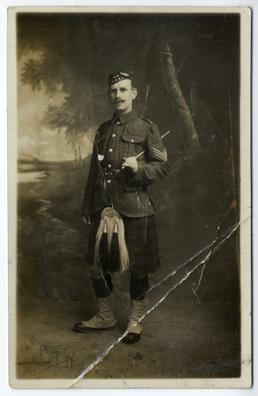 Sergeant William James Cameron Munro