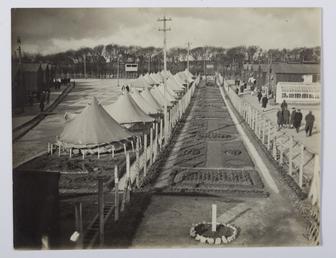 First World War Interment Douglas Camp
