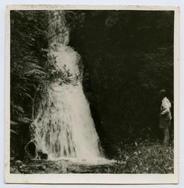 Spooyt Vane waterfall near Glen Mooar