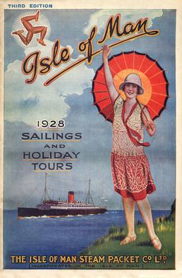Sailings & Holiday Tours Season 1928